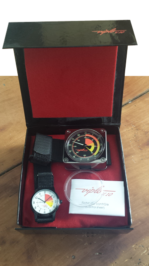 V10 skydiver altimeter - box
